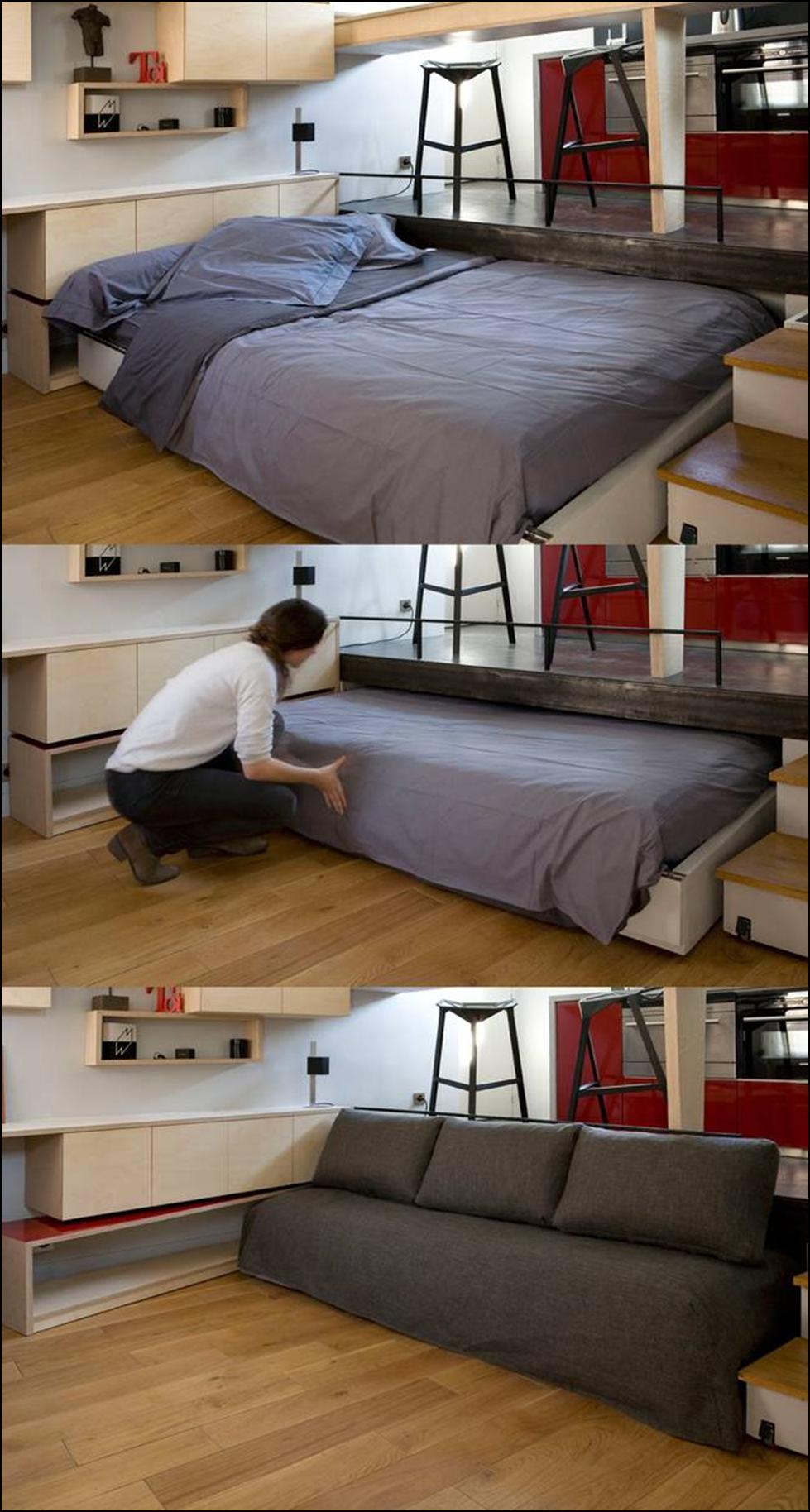 Mini piso para robar ideas