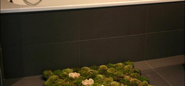 Alfombra para baño original y sostenible