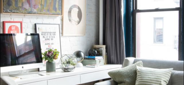 7 maneras de tener tu zona de trabajo en un piso pequeño