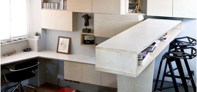Confortable Mini estudio Parisino 16metros cuadrados para robar ideas