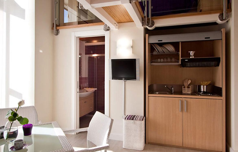 Soluciones de mobiliario para cocina peque as espaintegral for Disenadores de cocinas pequenas