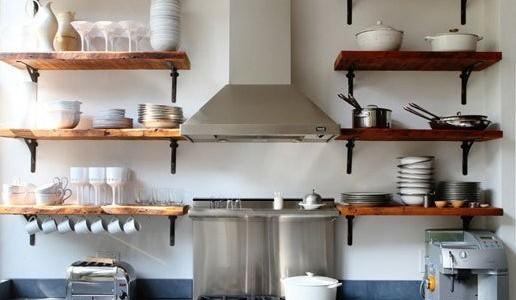 Módulos altos con puertas Vs  Estantes abiertos en tu cocina
