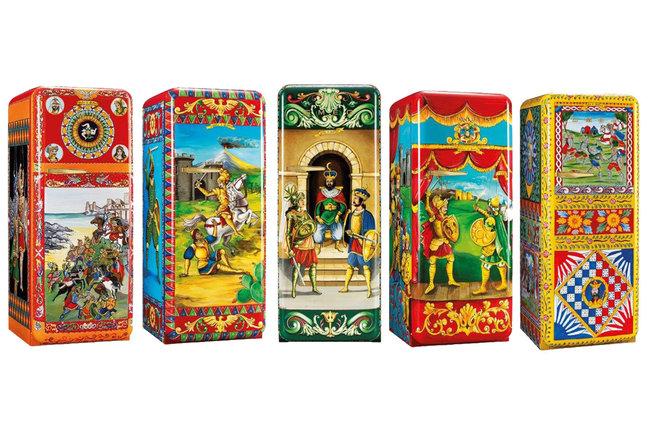 Smeg Kühlschrank Dolce Gabbana : Dolce gabbana für den kühlschrank