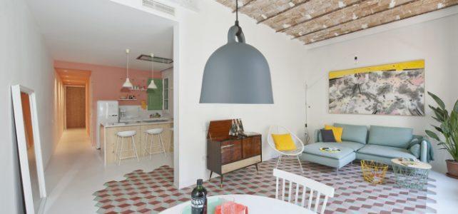 Fantastico piso modernista en Barcelona para robar ideas.