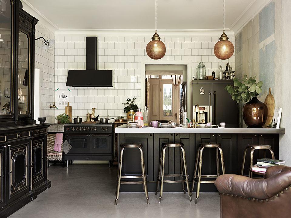 Negro: Nueva tendencia de color para muebles de cocina ...