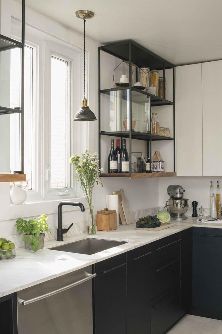 Negro: Nueva tendencia de color para muebles de cocina   Espaintegral